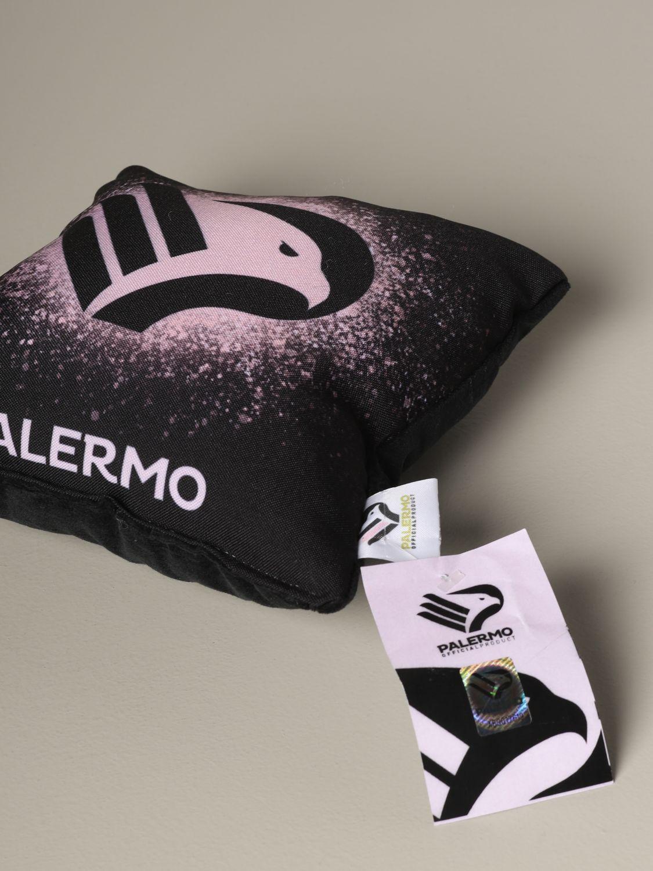 Accessori Palermo: Cuscino Palermo con stemma aquila nero 3