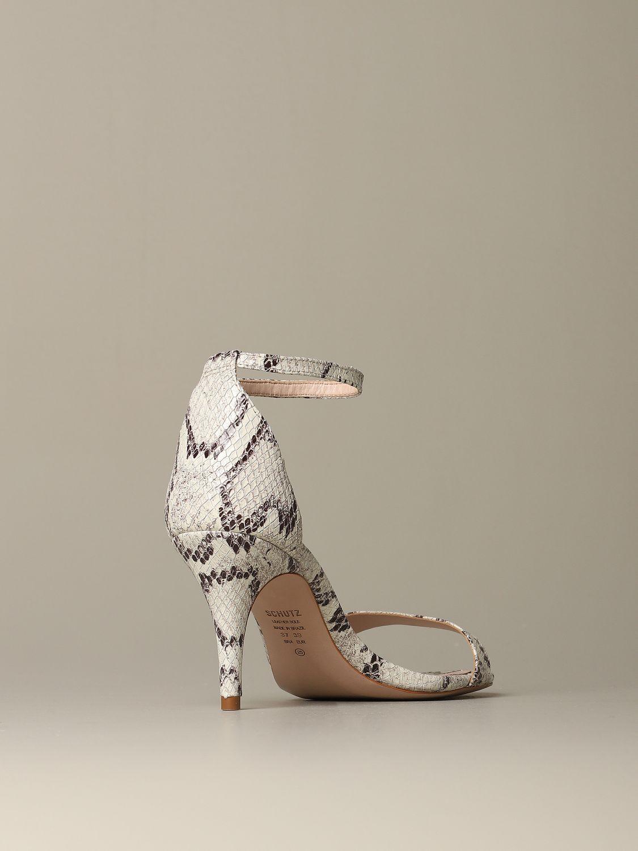 Heeled sandals Schutz: Shoes women Schutz white 3