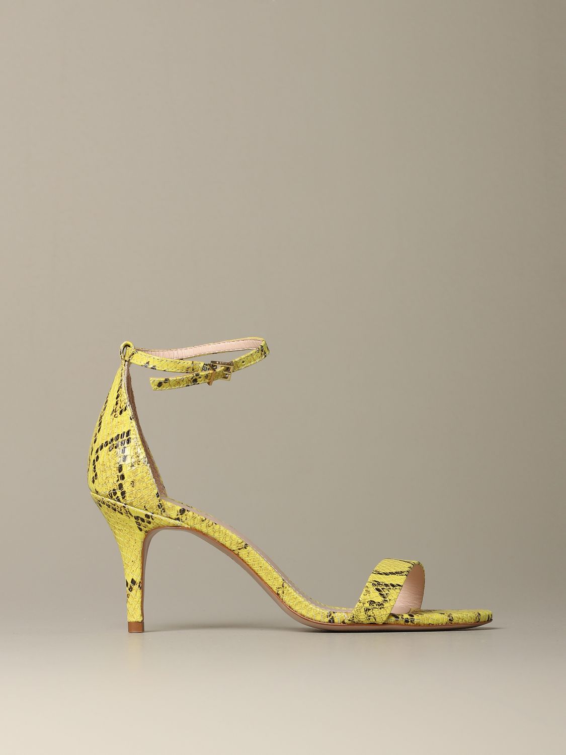 Heeled sandals Schutz: Shoes women Schutz yellow 1