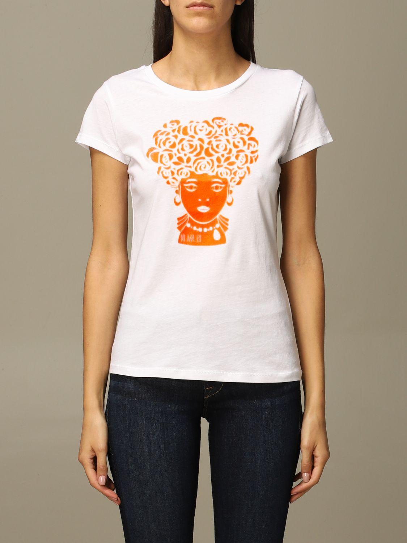 T-Shirt Ni Ma Bi: T-shirt damen Nimabi weiß 1