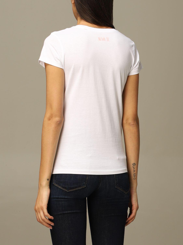 T-Shirt Ni Ma Bi: T-shirt damen Nimabi weiß 2