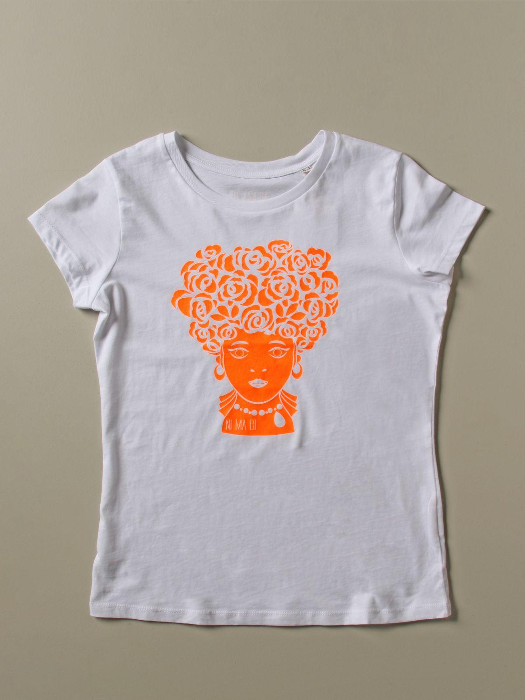 T-Shirt Ni Ma Bi: T-shirt damen Nimabi weiß 4