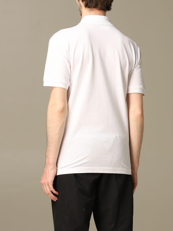 Polo Palermo: Polo kappa palermo a maniche corte con stemma aquila bianco 3