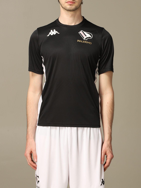 T-shirt Palermo: Maglia allenamento Palermo a maniche corte nero 1
