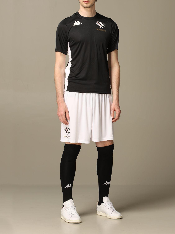 T-shirt Palermo: Maglia allenamento Palermo a maniche corte nero 2