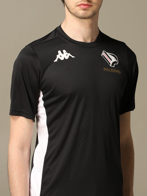 T-shirt Palermo: Maglia allenamento Palermo a maniche corte nero 4