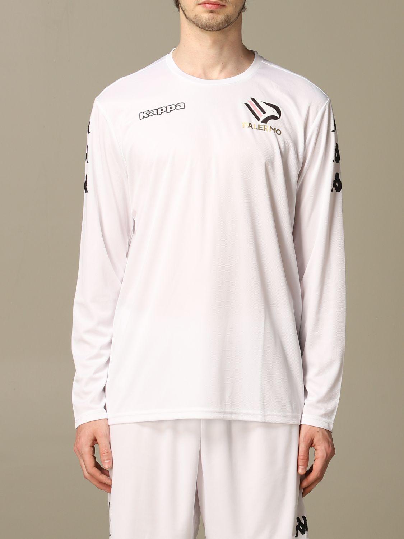 T-shirt Palermo: Maglia allenamento Palermo a maniche lunghe bianco 1