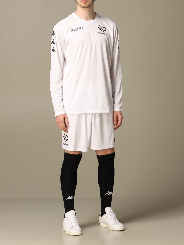 T-shirt Palermo: Maglia allenamento Palermo a maniche lunghe bianco 2