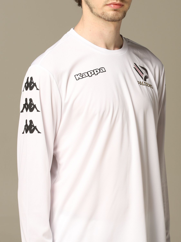 T-shirt Palermo: Maglia allenamento Palermo a maniche lunghe bianco 4