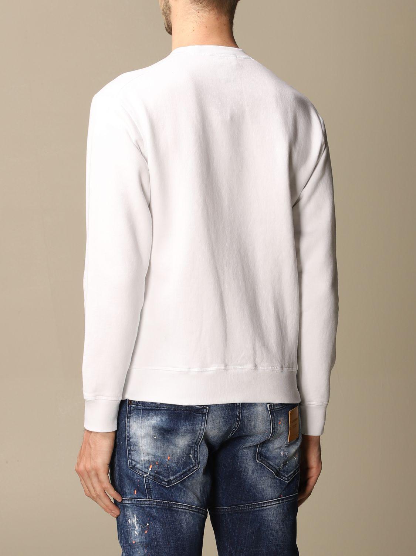 Sweatshirt Dsquared2: Dsquared2 cotton sweatshirt with logo white 2