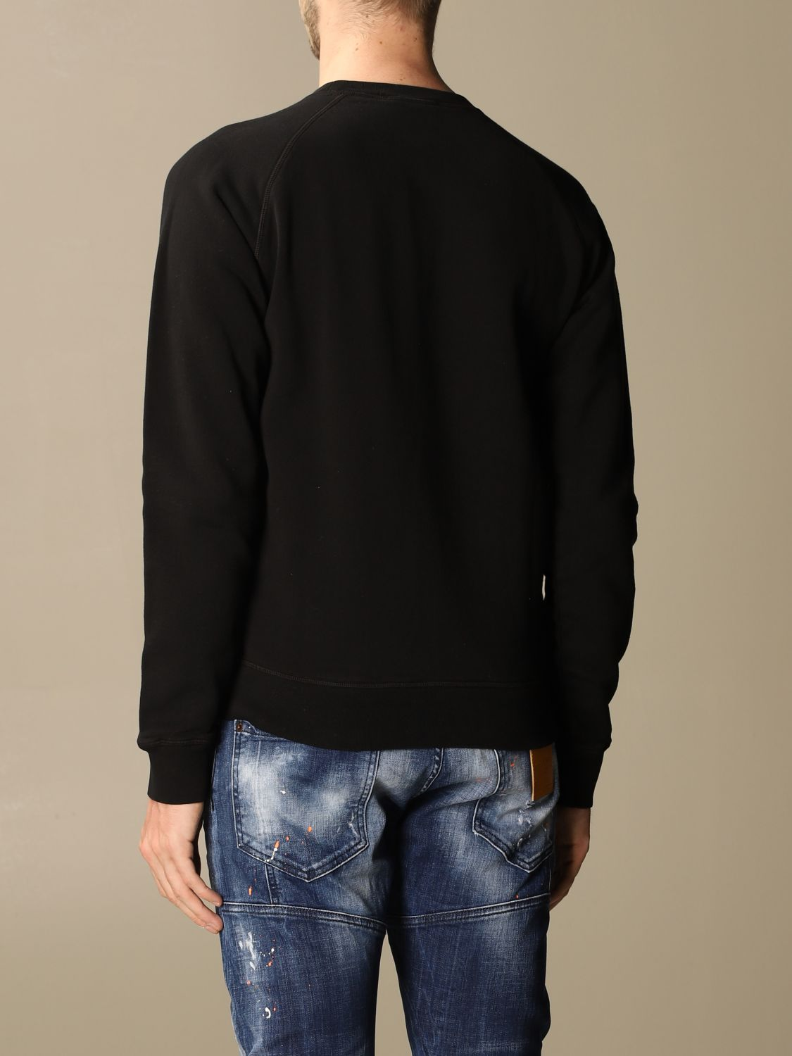 Sweatshirt Dsquared2: Dsquared2 men's sweatshirt black 2
