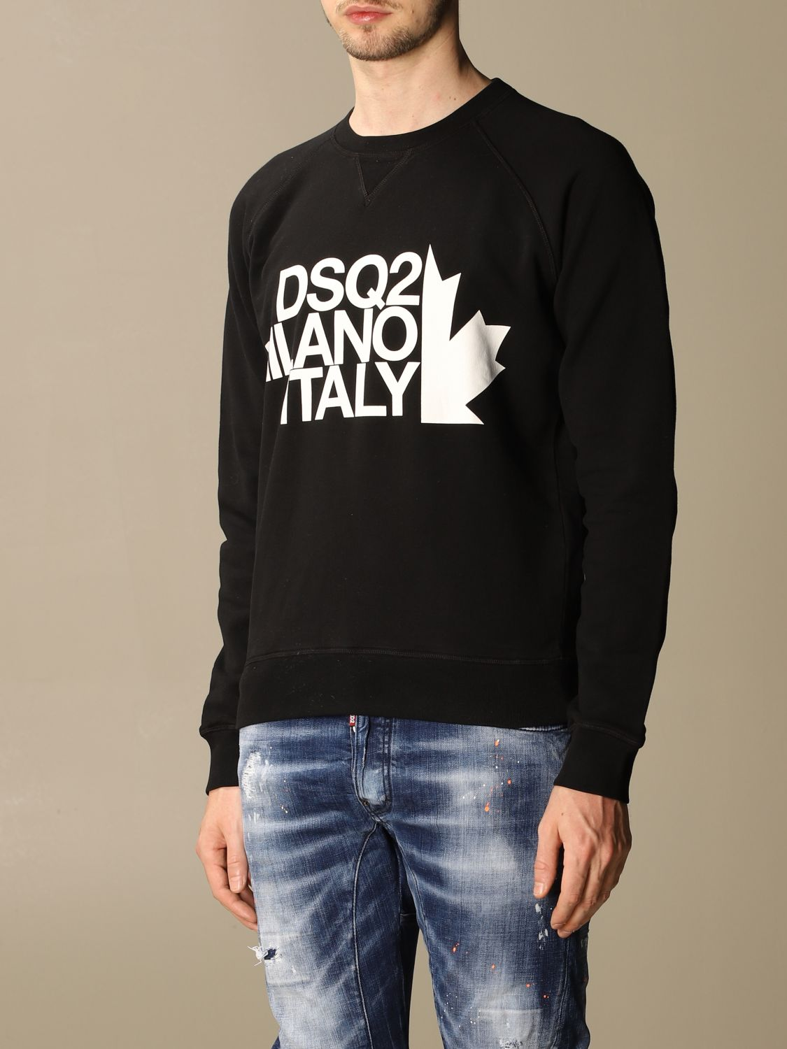 Sweatshirt Dsquared2: Dsquared2 men's sweatshirt black 3