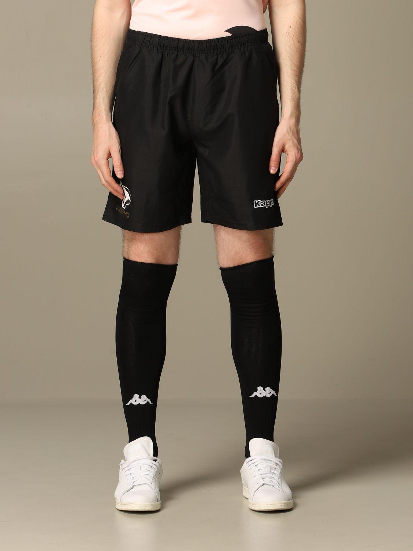 Pantaloncino Palermo: Pantaloncino vigova Palermo con sponsor nero 1
