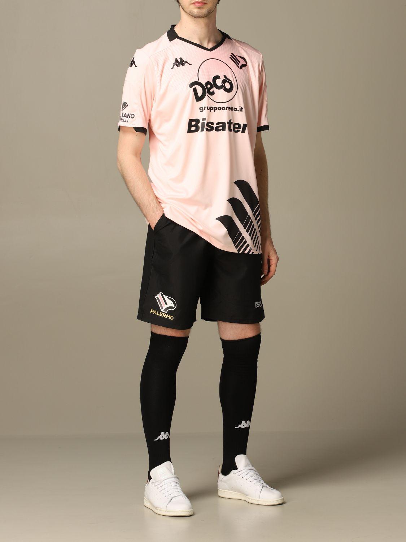Pantaloncino Palermo: Pantaloncino vigova Palermo con sponsor nero 2