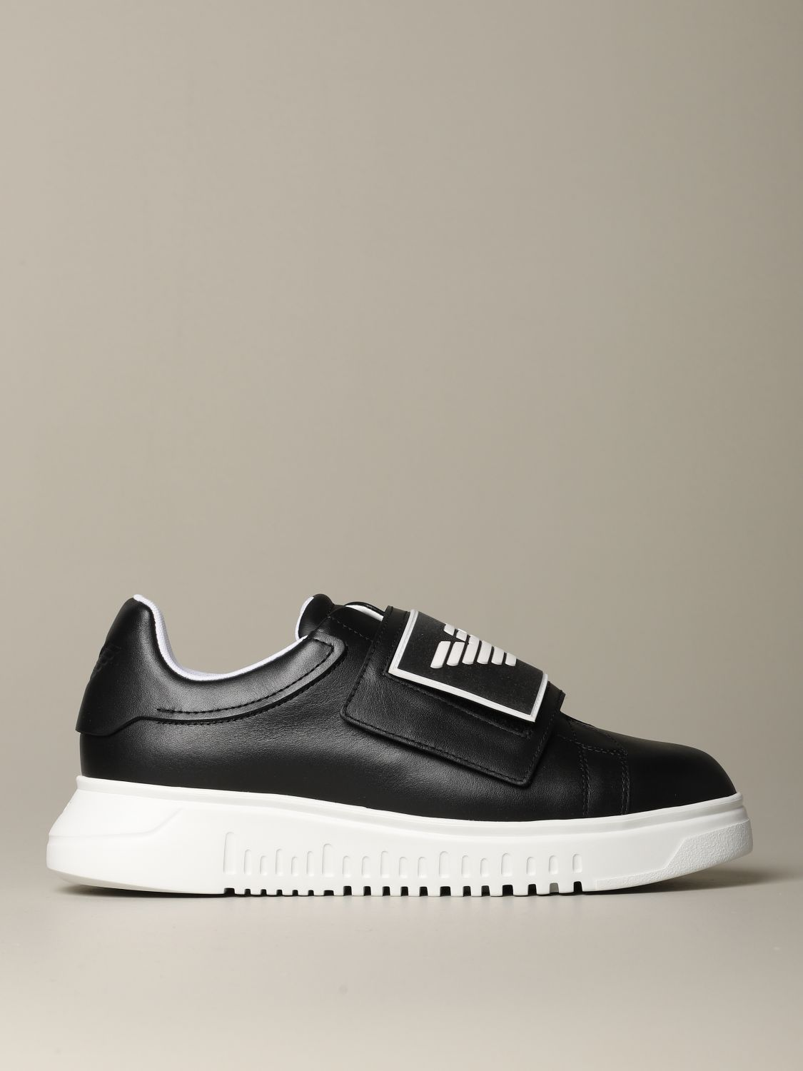 Sneakers Emporio Armani: Shoes men Emporio Armani black 1