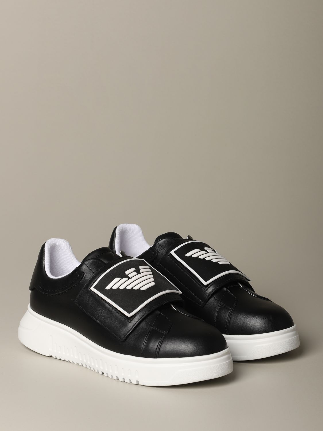 Sneakers Emporio Armani: Shoes men Emporio Armani black 2