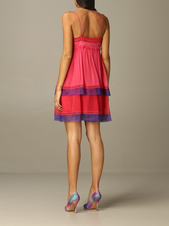 Robes Alberta Ferretti: Robes femme Alberta Ferretti fuchsia 2