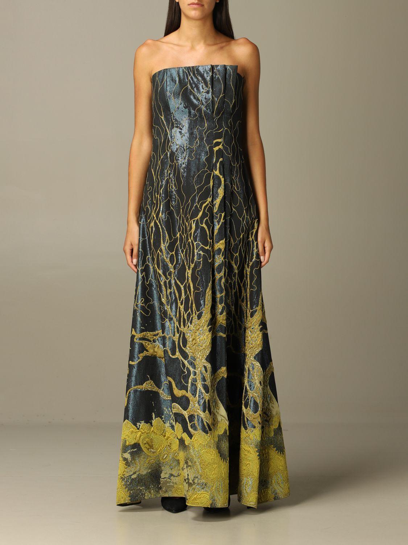 Robes Alberta Ferretti: Robes femme Alberta Ferretti vert 1