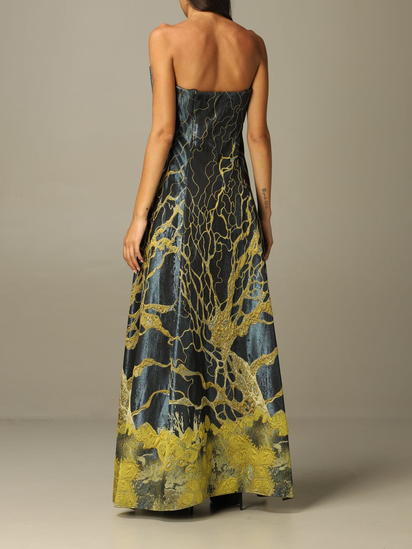 Robes Alberta Ferretti: Robes femme Alberta Ferretti vert 2