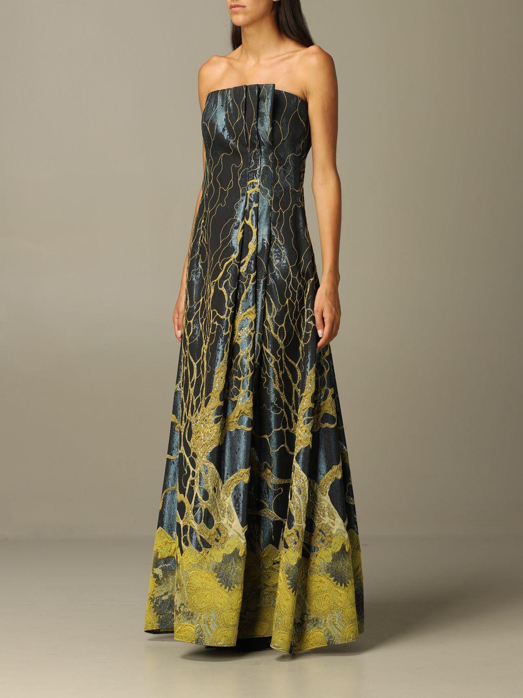 Robes Alberta Ferretti: Robes femme Alberta Ferretti vert 3