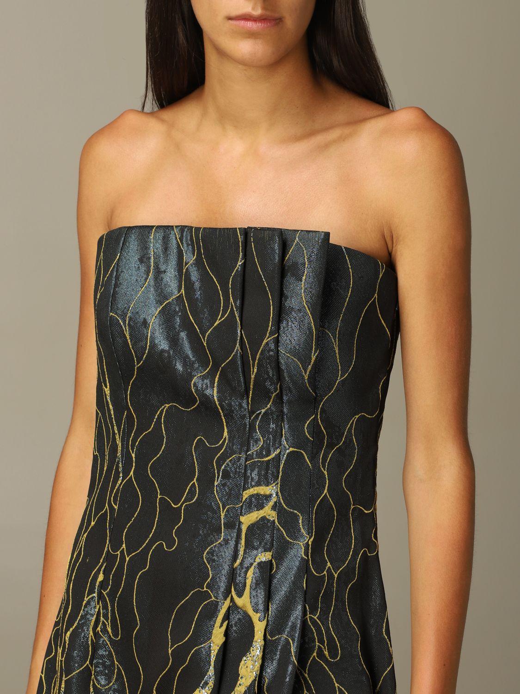 Robes Alberta Ferretti: Robes femme Alberta Ferretti vert 4