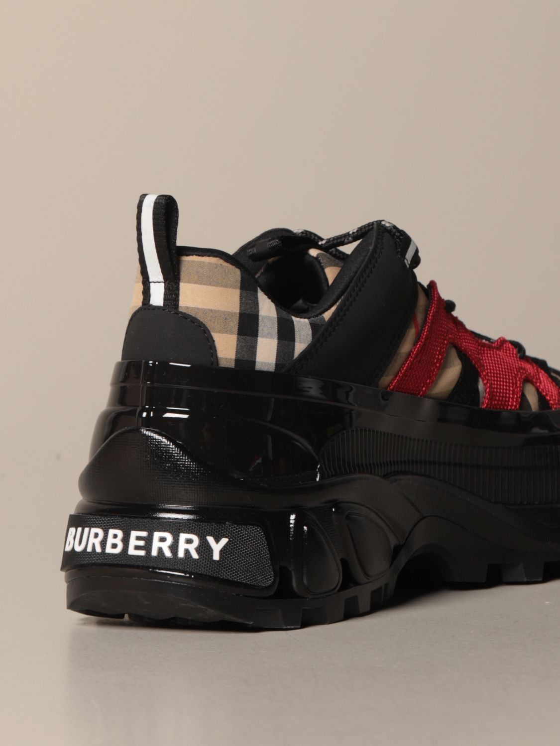 Trainers Burberry: Trainers men Burberry beige 3