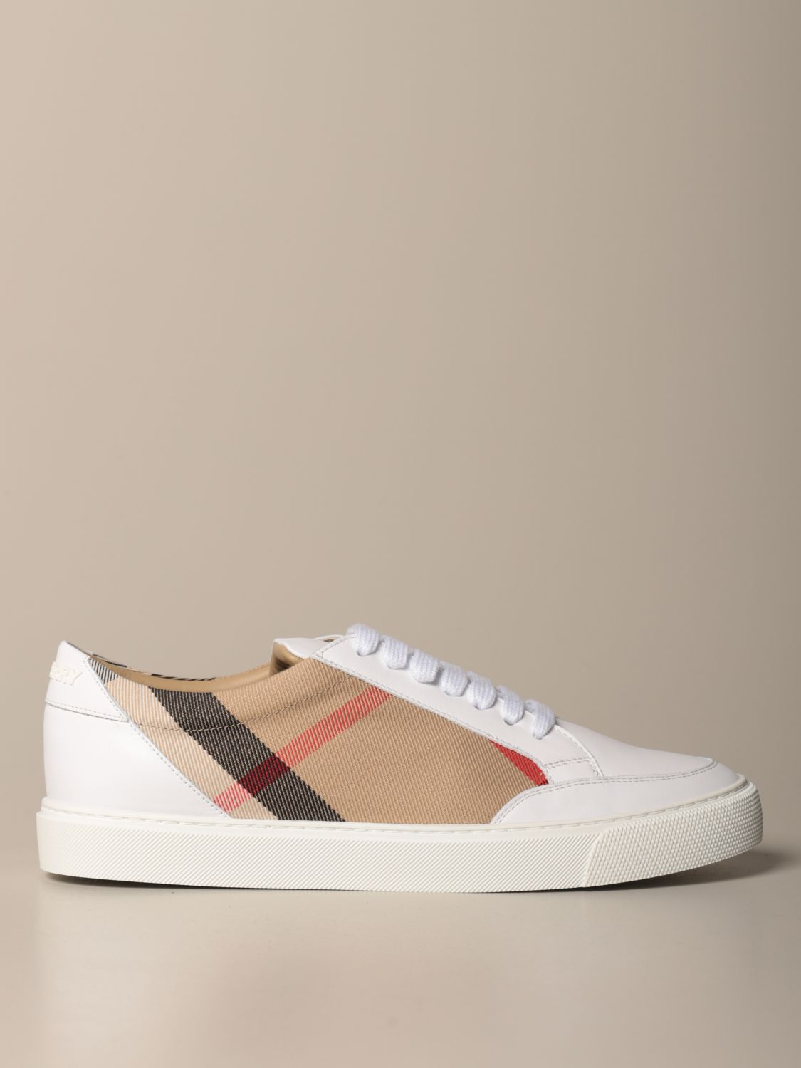 Sneakers Burberry: Sneakers women Burberry white 1