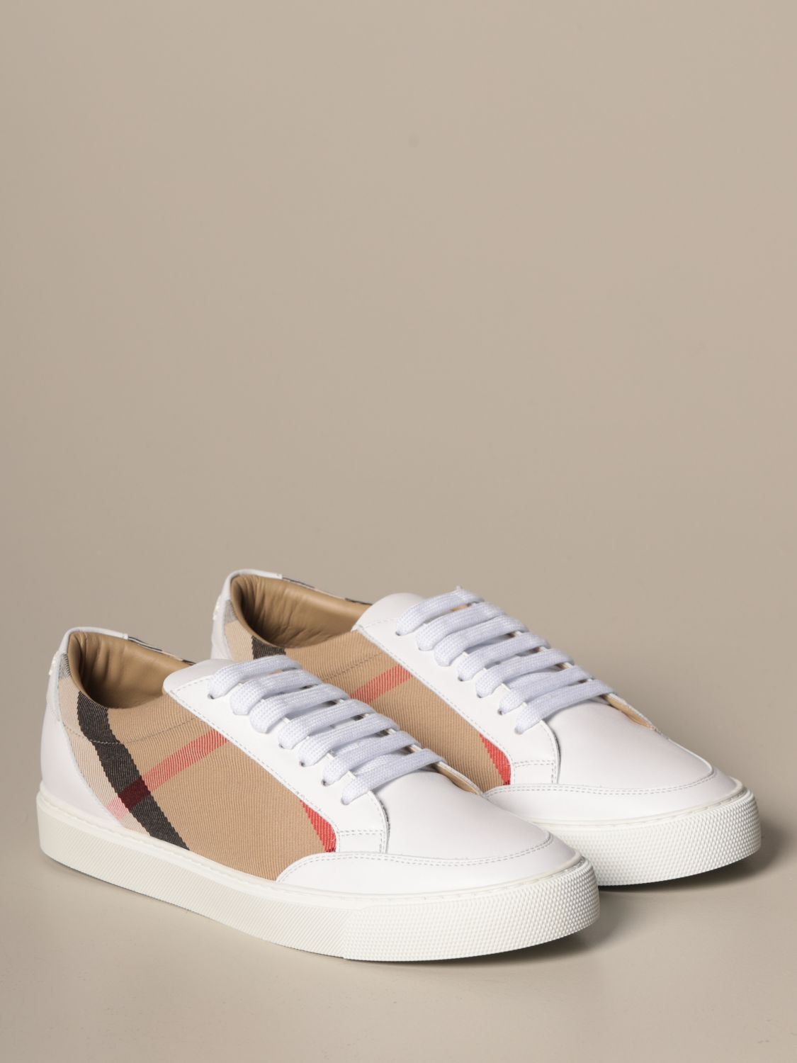Sneakers Burberry: Sneakers women Burberry white 2
