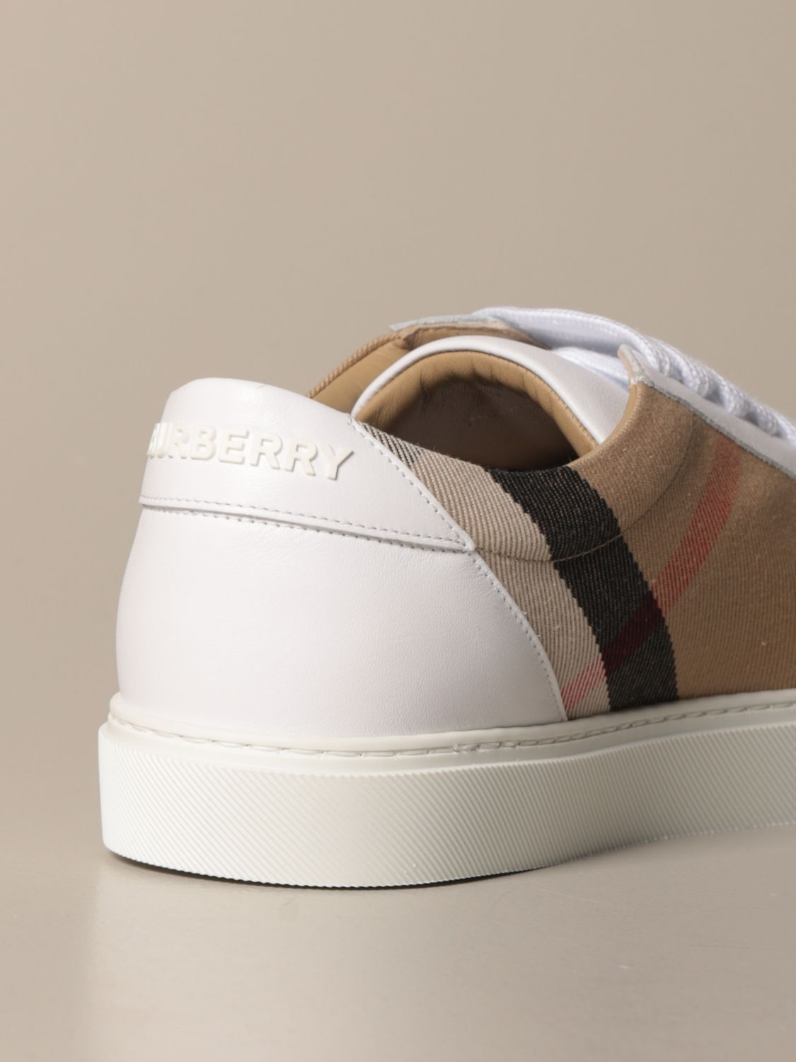 Sneakers Burberry: Sneakers women Burberry white 3