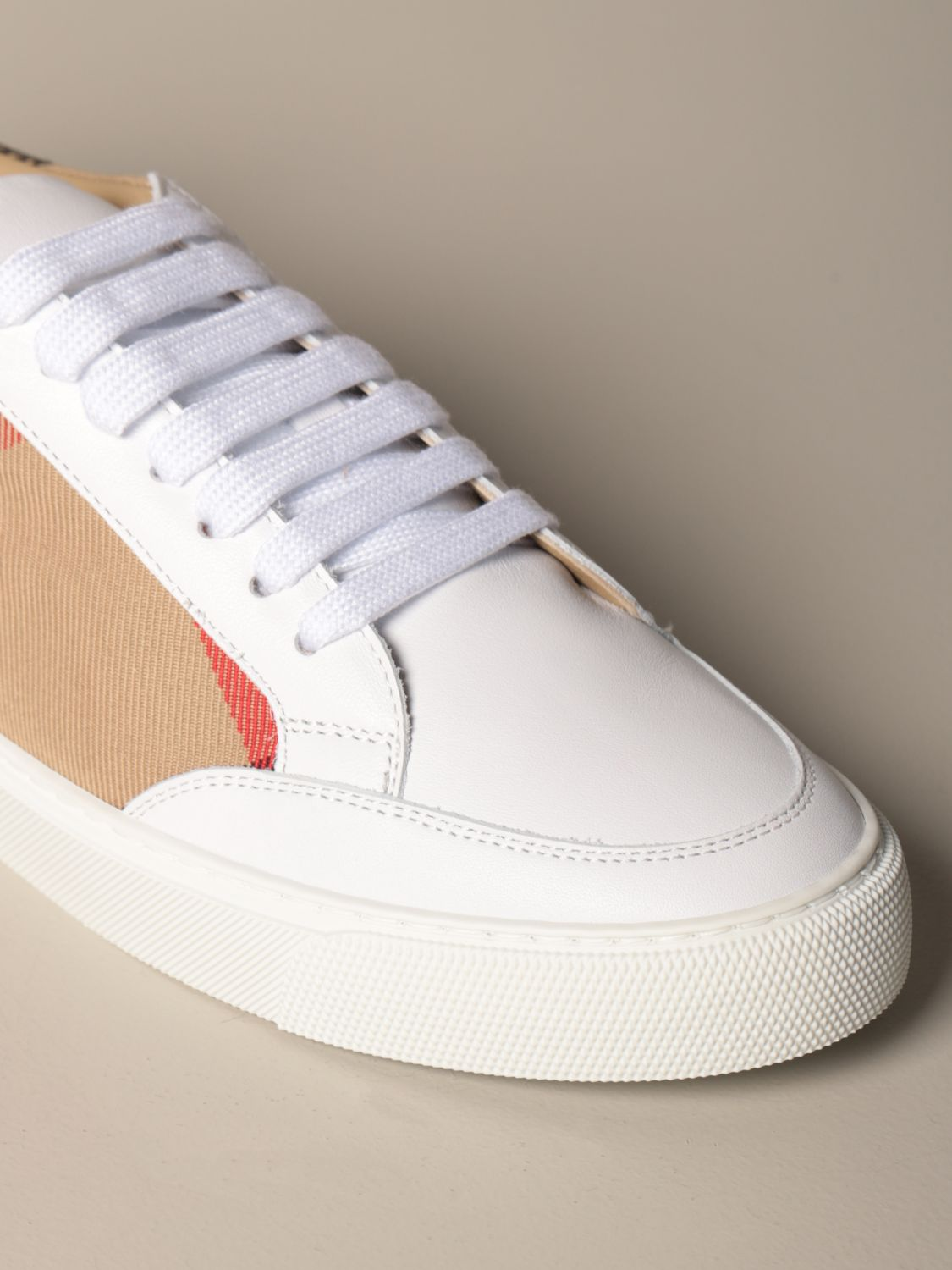 Sneakers Burberry: Sneakers women Burberry white 4