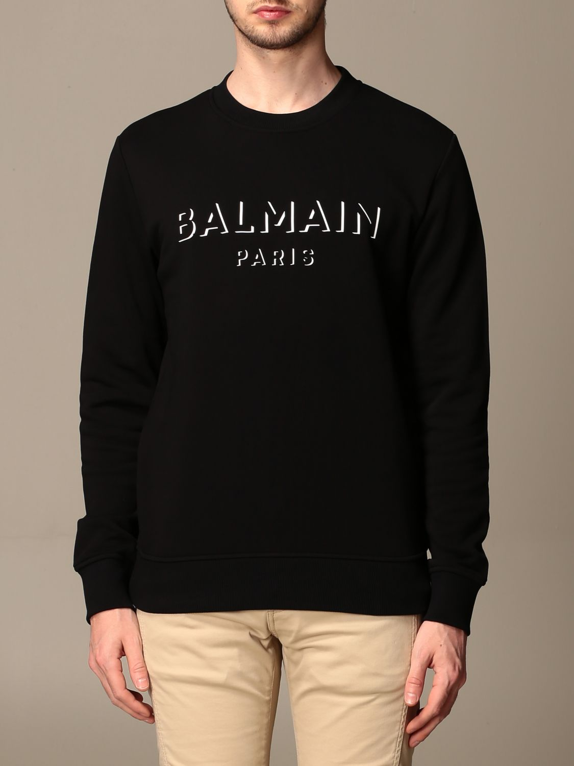 Jumper Balmain: Jumper men Balmain black 1