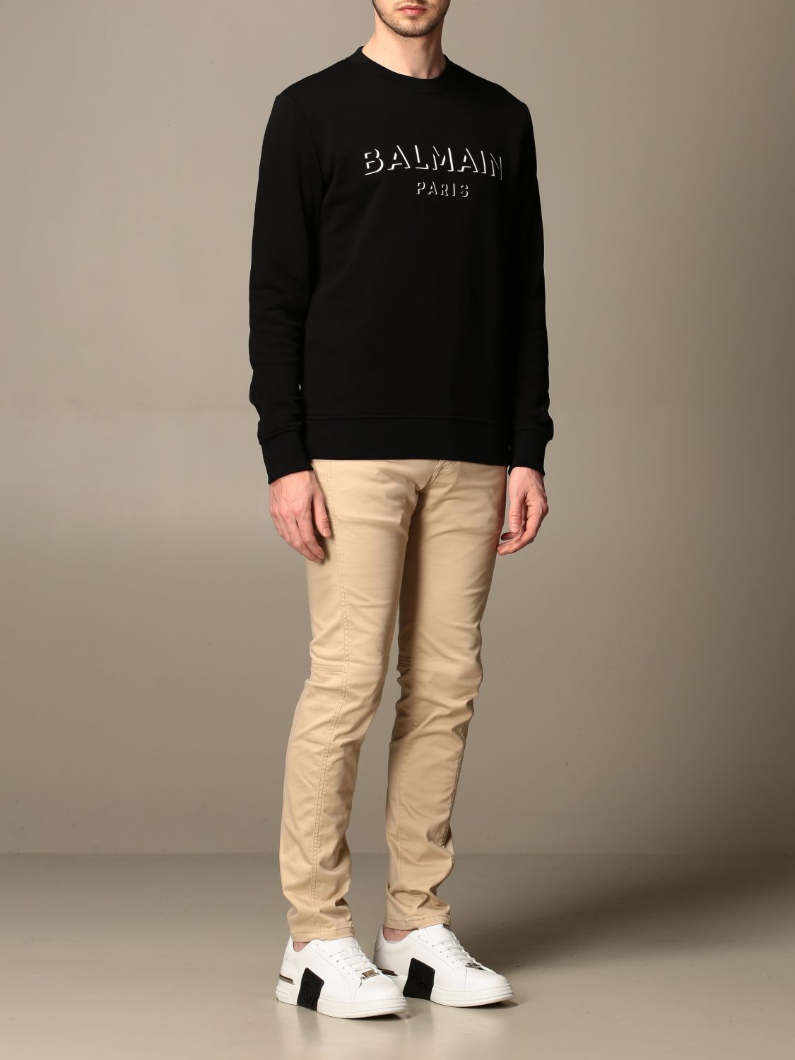 Jumper Balmain: Jumper men Balmain black 2