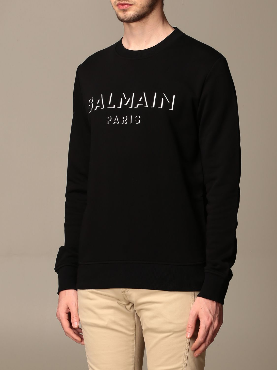 Jumper Balmain: Jumper men Balmain black 4