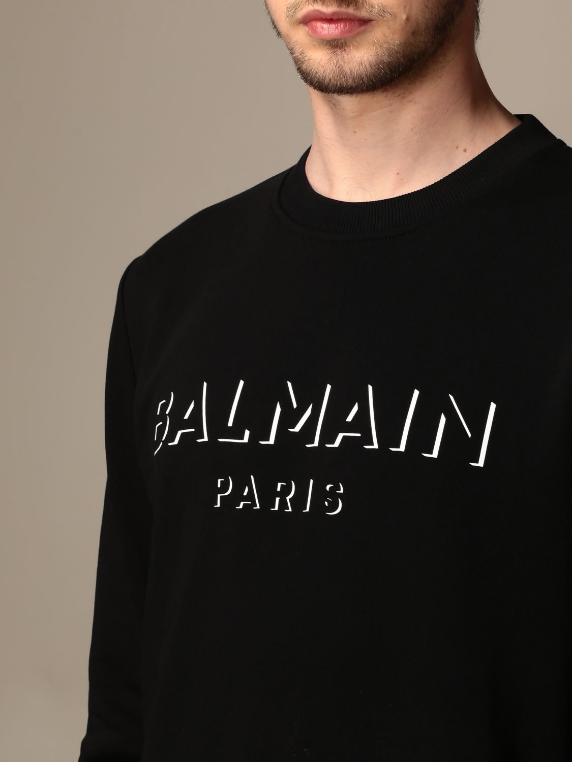 Jumper Balmain: Jumper men Balmain black 5