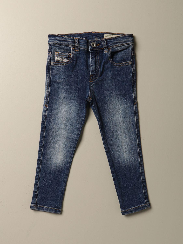 Jeans Diesel: Jeans Diesel slim fit in denim used denim 1
