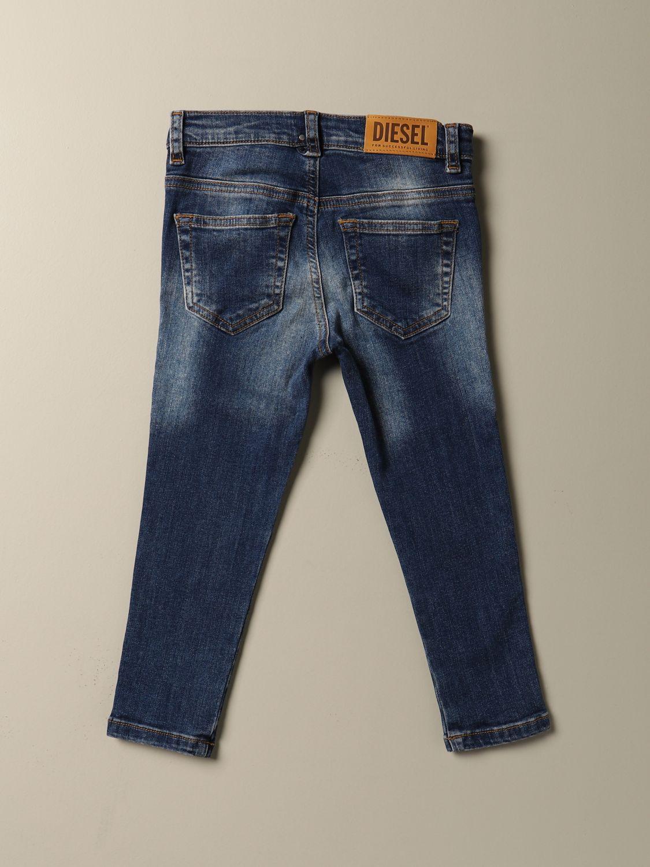 Jeans Diesel: Jeans Diesel slim fit in denim used denim 2