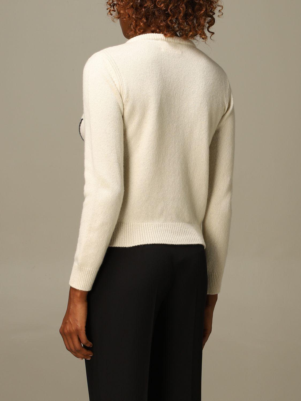 Sweater Alberta Ferretti: Sweater women Alberta Ferretti yellow cream 2