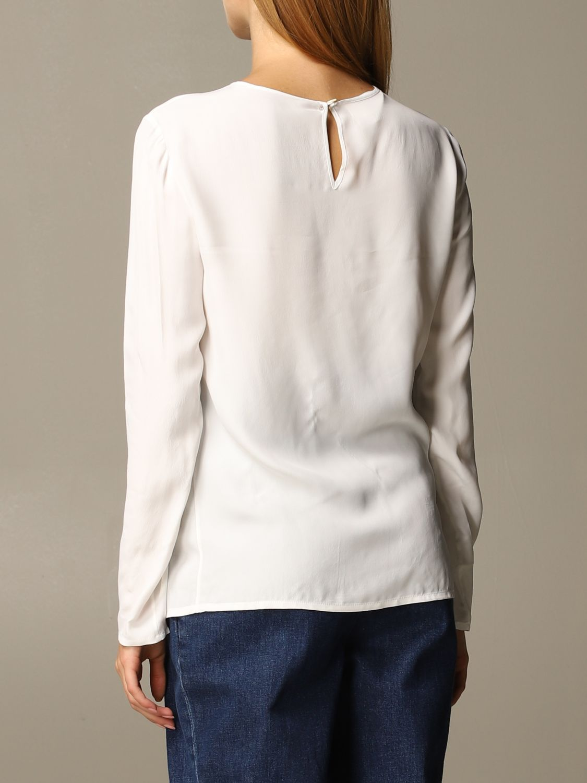 Рубашка Alberta Ferretti: Рубашка Женское Alberta Ferretti белый 3
