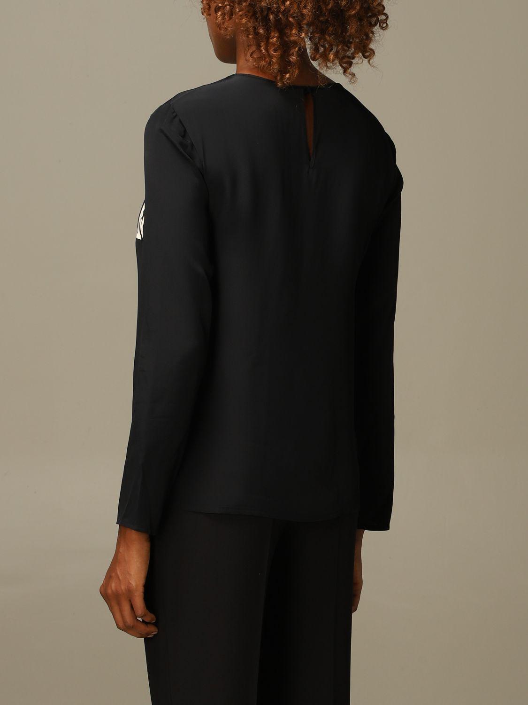 Блузка Alberta Ferretti: Рубашка Женское Alberta Ferretti черный 2