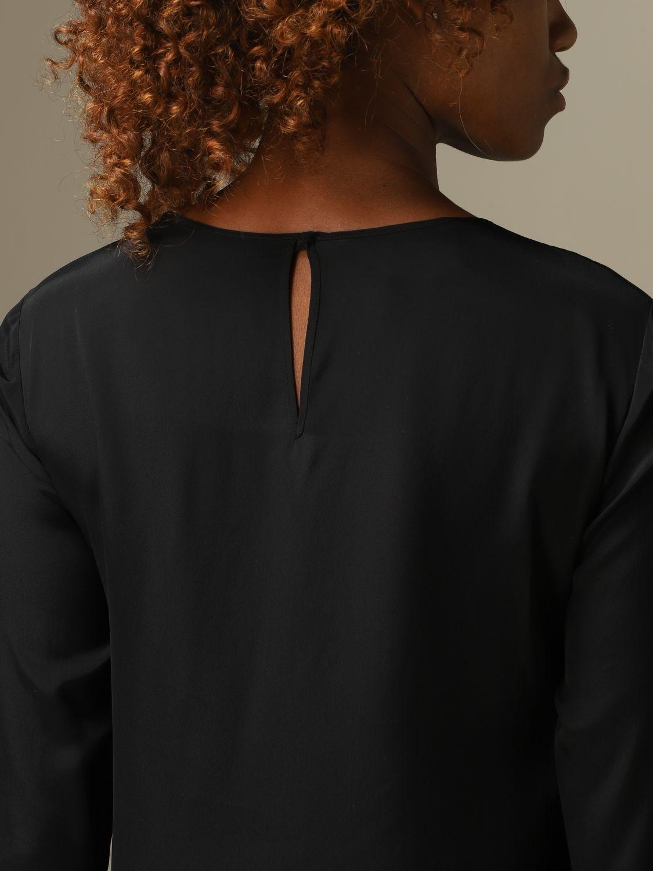 Блузка Alberta Ferretti: Рубашка Женское Alberta Ferretti черный 4