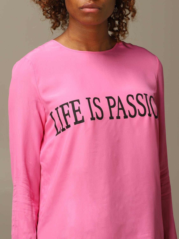Camicia Alberta Ferretti: Camicia Life Is Alberta Ferretti fuxia 4