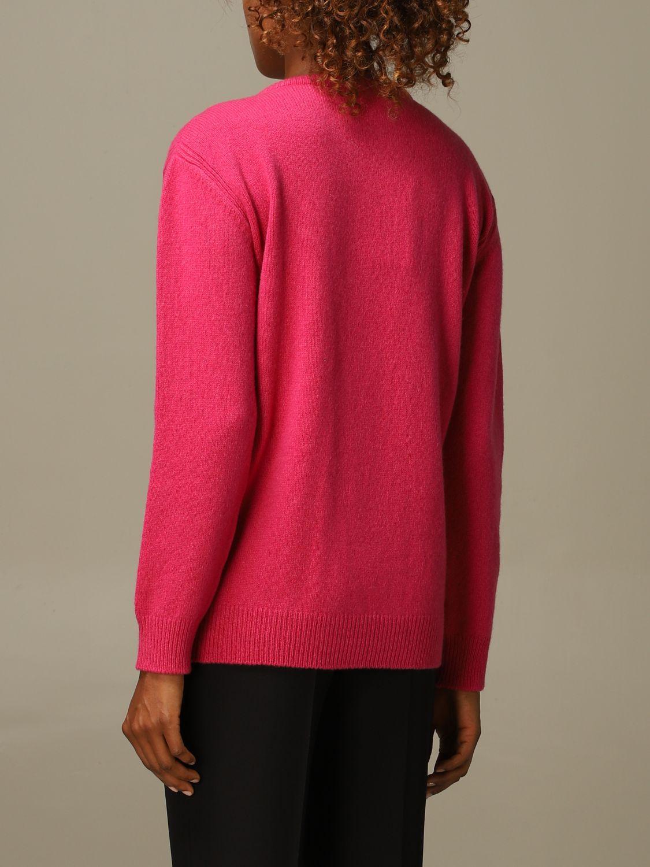 毛衣 Alberta Ferretti: 毛衣 女士 Alberta Ferretti 紫红色 2