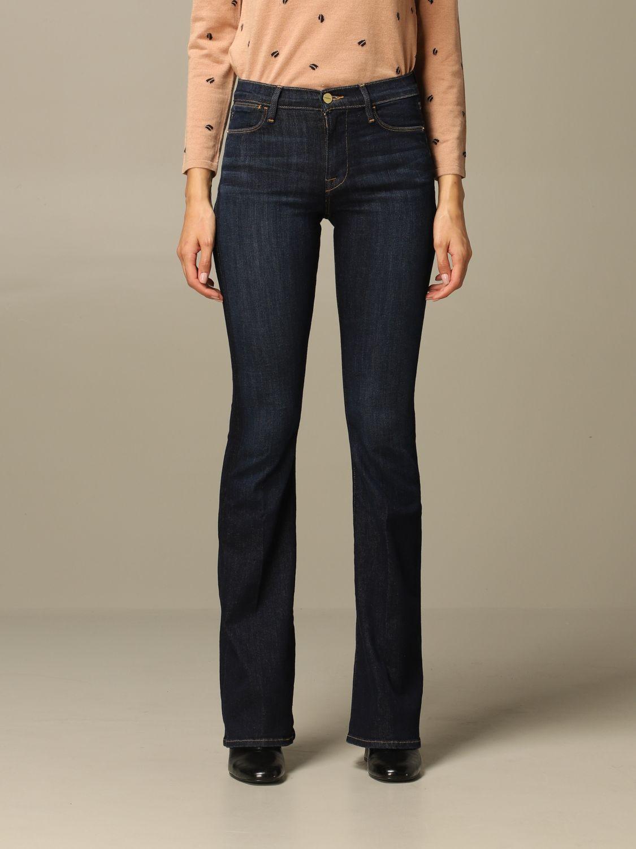 牛仔裤 Frame: 牛仔裤 女士 Frame 蓝色 1