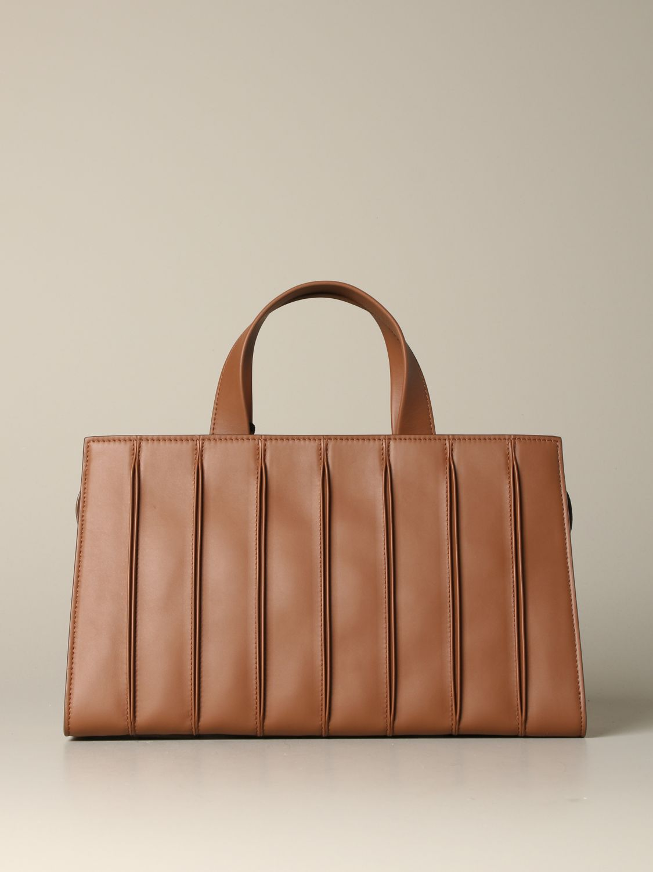 Tote bags Max Mara: Max Mara Whitney tote bag in genuine leather leather 1