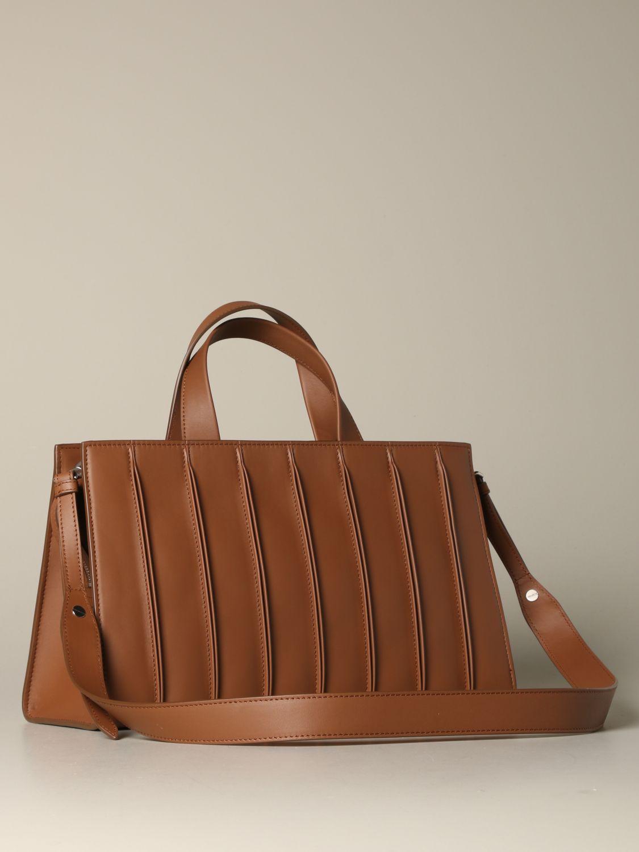 Tote bags Max Mara: Max Mara Whitney tote bag in genuine leather leather 3