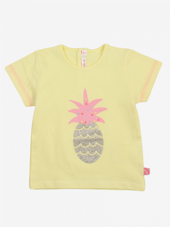 T-shirt Billieblush: T-shirt bambino Billieblush giallo 1