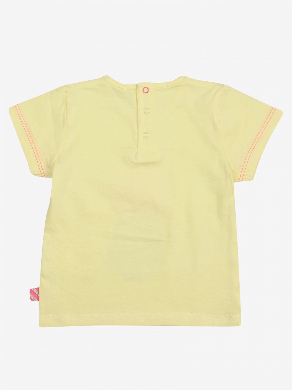 T-shirt Billieblush: T-shirt bambino Billieblush giallo 2