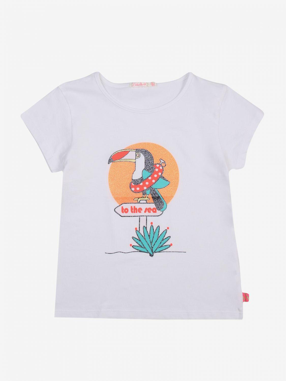T-shirt Billieblush: T-shirt bambino Billieblush bianco 1