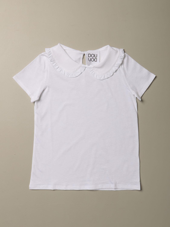 T-shirt Douuod: T-shirt bambino Douuod bianco 1