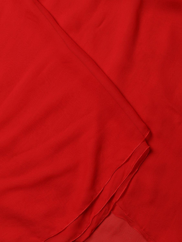 Neck scarf Alberta Ferretti: Neck scarf women Alberta Ferretti red 2
